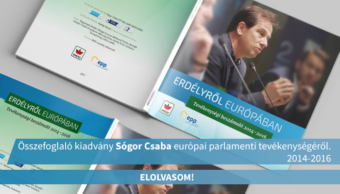 Sogor Csaba Osszefoglalo Kiadvany 2014-2016